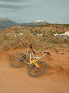 Moab course La Sal